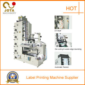 Automatic 4 Color Label Flexo Printing Machine pictures & photos