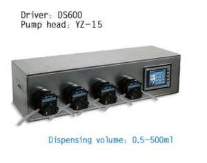 DS300 Four Channels Dispensing System Filling Peristaltic Pump pictures & photos