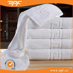 Cotton High Quality Jacquard Bath Towels for 5 Star Hotel pictures & photos