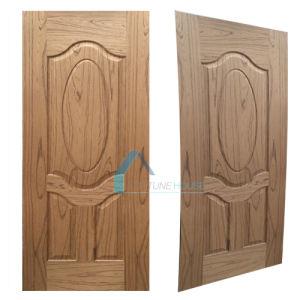 MDF HDF EV-Teak Veneered Laminate/Molded Panel Door Skin pictures & photos