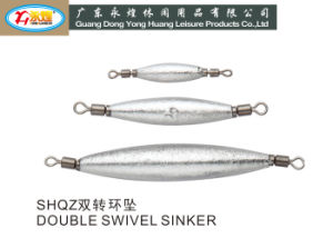 Fishing Lead Weight Sinker with The Double Swivels pictures & photos