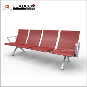 Leadcom 4 Seater PU Padded Waiting Bench (LS-529YF) pictures & photos