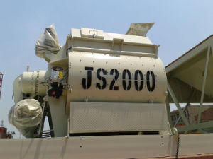 (JS2000) Twin Shaft Compulsory Concrete Mixer for Sale pictures & photos