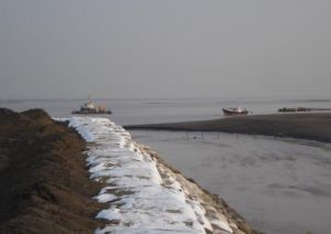 Geobag Shoreline Protection Riverbank Revetments &Floods Protection pictures & photos