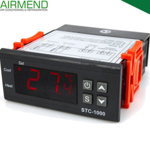 Digital Temperature Controller (STC-1000) Wide Range with Switch for Refrigeration and Heating
