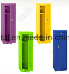 Piano Hinge Steel Kids Toy Cabinet with Secure Three Point Latching pictures & photos