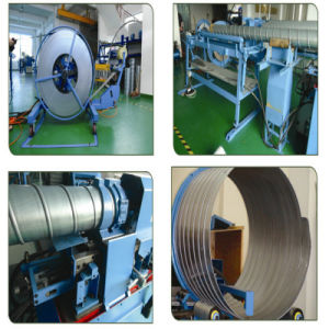 Round Duct Forming Machine for HVAC Duct Making pictures & photos