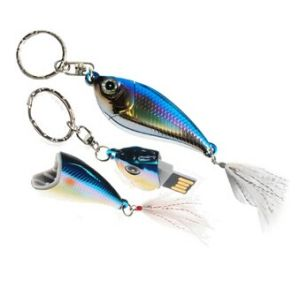 Fish USB Flash Drive with Free Key Chain 8GB (TF-0302) pictures & photos