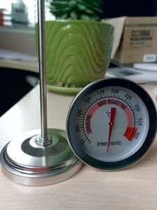 Christmas Promotion Meat Food Cooking Bimetal Thermometer (KH-M201) pictures & photos