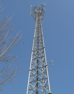 Steel 3 Legged Tube Galvanzied Tower for Telecom pictures & photos