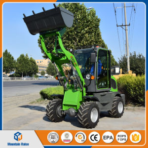 China Manufacturer European 0.8 Ton Mini Wheel Loader with Ce pictures & photos