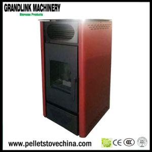 Indoor Using Ce Certified Automatic Pellet Air Stove with Remoter Control pictures & photos