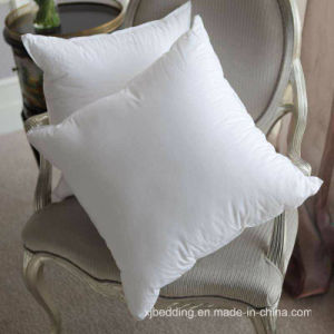 Microfiber White Cushion with 100% Cotton Fabric pictures & photos