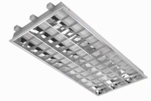 T8 Recessed Louver Grille Recessed Troffer Light for Commercial Lighting (ROT118) pictures & photos
