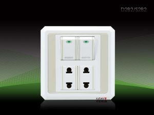 Wall Switch and Socket (V6-5, D2B2)