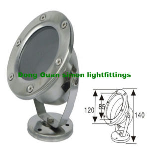 6W LED Underwater Light Aluminium Housing
