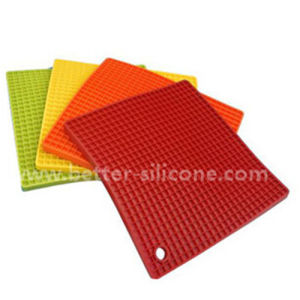 Heat Resistant Silicon Rubber Pot Pad pictures & photos