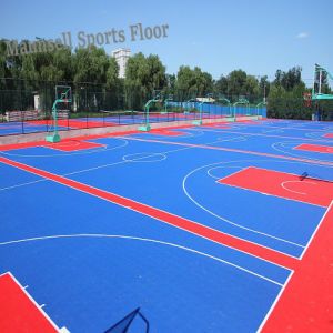 PP Interlock Floor for Indoor and Outdoor Sports Courts pictures & photos