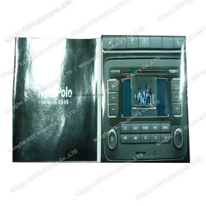 MP4 Player Brochure, Video Advertising, Video Advertising Card pictures & photos