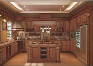 2017 New Vinyl Wrap Kitchen Cabinet Door (xs-001) pictures & photos