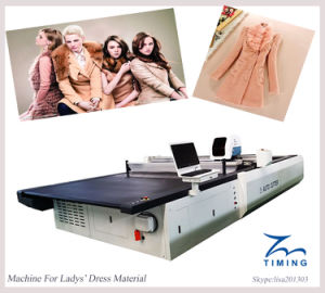 Tmcc-1725 Cloth Cutting Machine Cutting Table pictures & photos