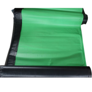 Cross Laminating HDPE Film Self-Adhesive Waterproofing Membrane for Roof Garden pictures & photos