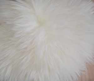Genuine Australian Sheepskin Square Long Wool Chair Cushion pictures & photos
