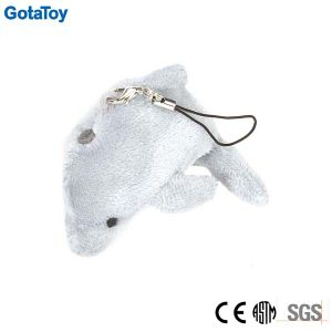 Custom Plush Dolphin Keyring Stuffed Soft Toy Keychain pictures & photos