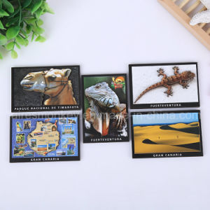 Custom Home Decoration Craft Christ 3D Souvenir Wooden Fridge Magnet pictures & photos
