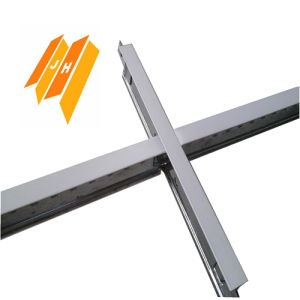 Black Groove Ceiling Grid Steel Profile pictures & photos