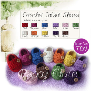 100% Handmade Baby Crochet Shoes