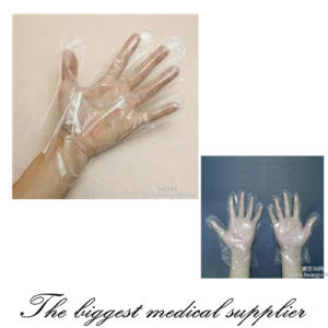 Disposable Examination Gloves PE Gloves pictures & photos