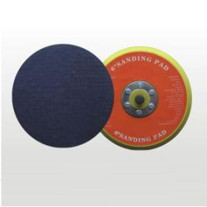 "6"" Solid Sanding Pad with Hook & Loop pictures & photos"