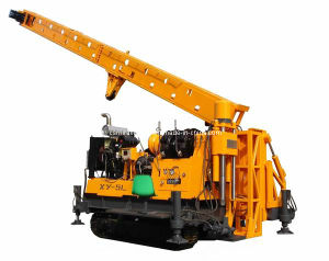 Crawler Mounted Mobile Water Well Drilling Rig (XY-5L) pictures & photos
