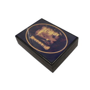 Simple Solid Wood Cigar Packaging Box pictures & photos