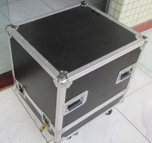Silver Alumium Beauty Case with Handle Makeup Box Set ATA Case Flight Rack Cases Flight Case Aluminum Case Flight Box ATA