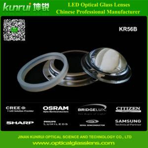Optical Glass Lens for LED High Bay Lights (KR56B)
