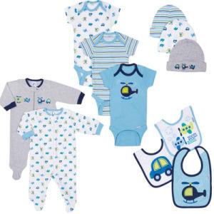 Gerber Baby Boy 11-Piece Essential Layette Set Newborn Fashion Pajamas