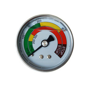 2inch-50mm Half Stainless Steel Back Liquid Filled Pressure Gauge Manometer pictures & photos