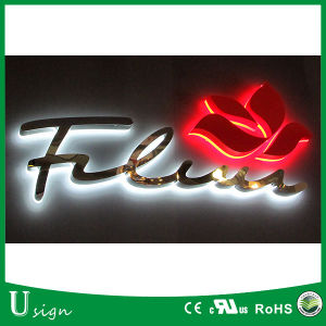 Mirror Polised LED Backlit Stainless Steel Channel Letters pictures & photos