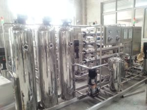 Full Automatic 2000L/H Drinking Water Reverse Osmosis Treatment Machine pictures & photos