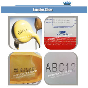 Continuous Barcode Label Packaging Inkjet Printing Machine with Ce pictures & photos