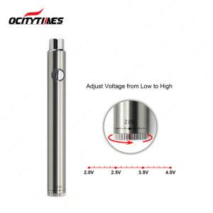 Bottom Twist E Cigarette Variable Voltage 380mAh Vape Pen Battery (S19) pictures & photos