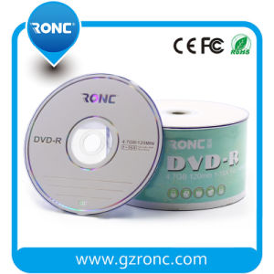 Factory Price Printable DVD-R with 50′s Wrapped pictures & photos