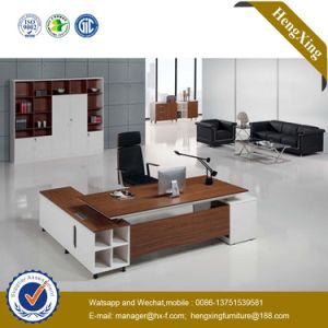 Luxury Office Furniture MDF L Shape Office Desk (HX-NT152) pictures & photos
