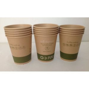 China Export Hot Drink Paper Cup/Kraft Paper Cup/Kraft Coffee Paper Cup pictures & photos