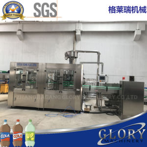 Automatic Plastic Container Gas Drink Filling Machine pictures & photos