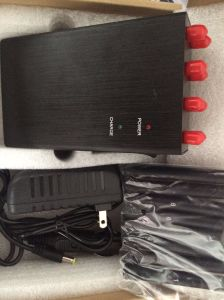 8 Bands Handheld 2g 3G 4G Cellphone GPS WiFi Lojack Jammer with Car Charger pictures & photos