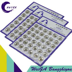 Factory Production High Quality Electroplating Buttons pictures & photos