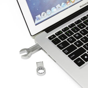 USB Flash Drive Metal Spanner Wrench Pen Driver 4GB 8GB 16GB 32GB 64GB Memory Stick Cool Tools Pendrive pictures & photos